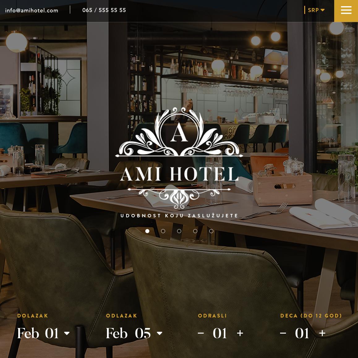 ami hotel home