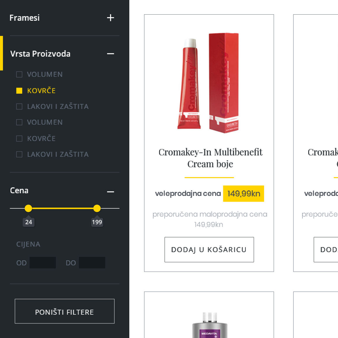 webshop product