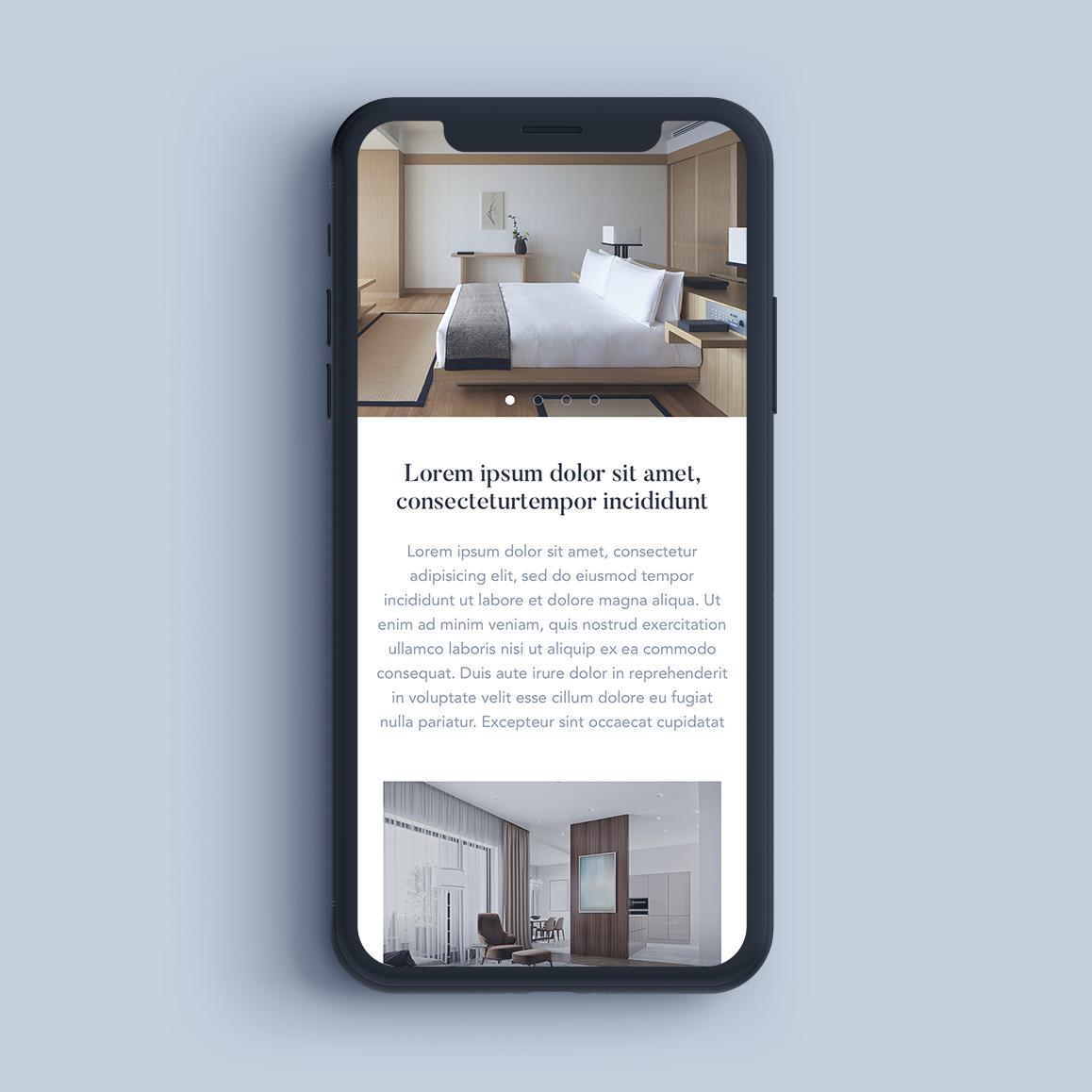 hotel offer responsive